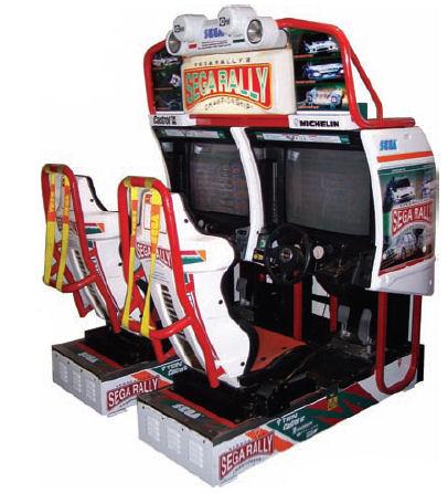 borne arcade sega rally
