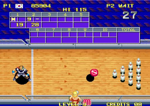 Le bowling version Windjammers